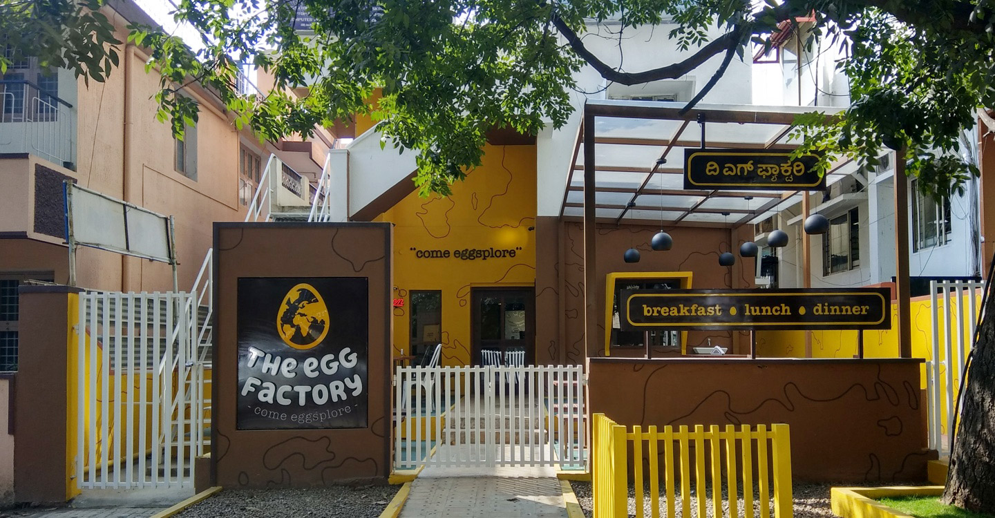 The egg factory outdoor