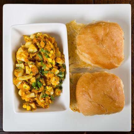 Boiled Egg Bhurji